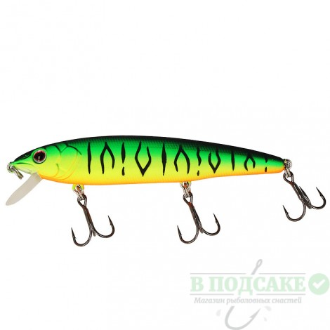 Воблер Strike Pro Flash Minnow 85F 8.6гр(GC01S)
