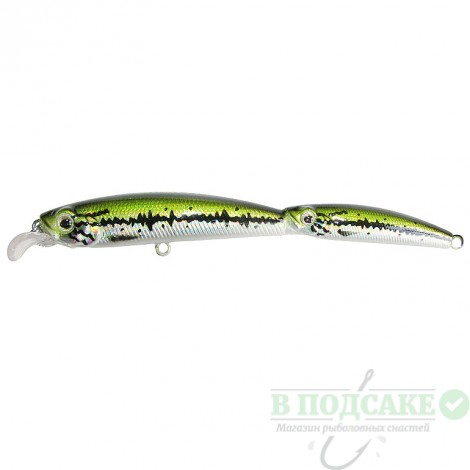 Воблер Strike Pro Twin Minnow 100SP 7.3гр(76)(ф)