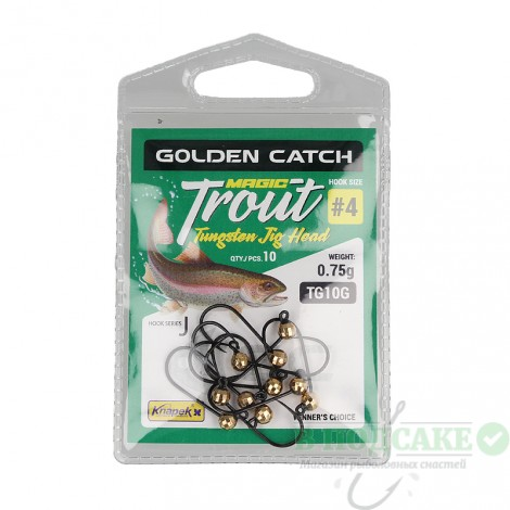 Джиг головка GC Trout Magic TG10G №8 0.40гр(1шт)