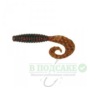 "Силикон Kalipso Crooked Grub 2.5""(10шт)116 MOR"