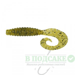 "Силикон Kalipso Crooked Grub 2.5""(10шт)125 OOPP"